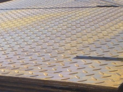 Лист стальной рифленый 3х1500х6000 мм