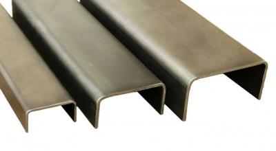 Швеллер стальной гнутый 250х100х8 мм