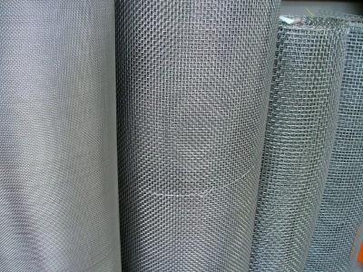 Сетка нержавеющая тканая 3,5х0,8 мм сталь AISI 304