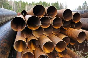 Труба стальная б/у  Ø 820х9-8 мм