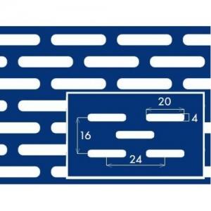 Перфорированный лист 1000x2000х1 PC Lv4x20-16x25