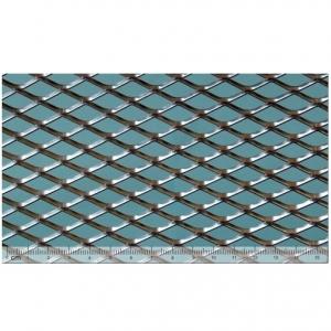 Лист алюминиевый просечно-вытяжной 1000x2000х1 TH MR22/12x2,5