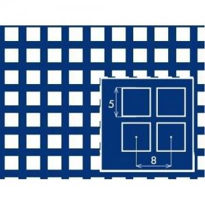 Перфорированный лист 1000x2000х1,5 PC Qg5-8