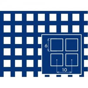 Перфорированный лист 1000x2000х1 PC Qg6-10