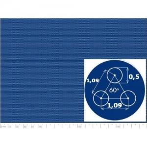 Перфорированный лист 1000x2000х0,5 PA Rv0,5-1,09