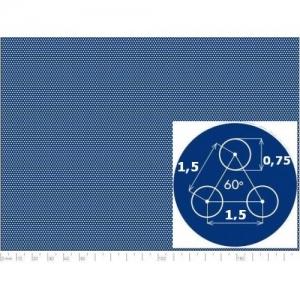 Перфорированный лист 1000x2000х0,6 SPA Rv0,75-1,5