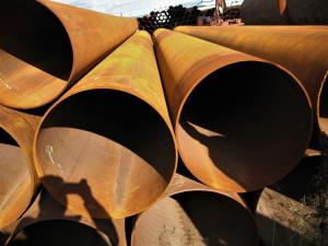Труба стальная б/у Ø 630х9-8 мм