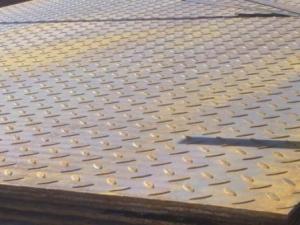 Лист стальной рифленый 5х1250х6000 мм