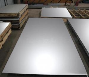 Лист нержавеющий AISI 201 0,5 мм 1000х2000 ВA+PVC  (зеркальная поверхность в пленке)
