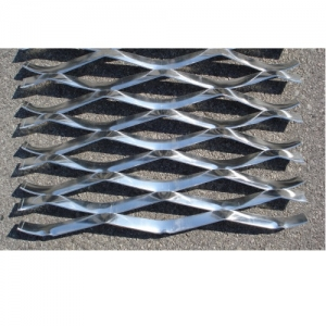 Лист алюминиевый просечно-вытяжной 1500x2000х3 TH MR200/72x22