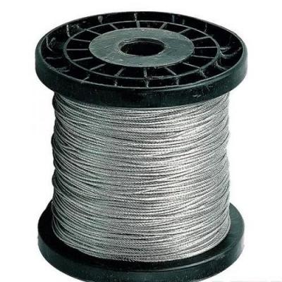 Нержавеющий трос А4, плетение 1х19 диаметром 10мм